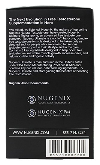 Nugenix Box Side
